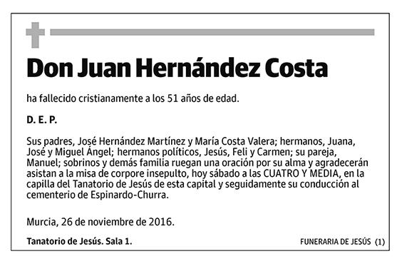 Juan Hernández Costa