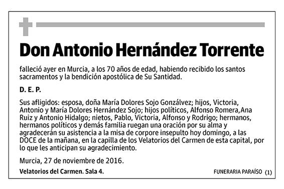 Antonio Hernández Torrente