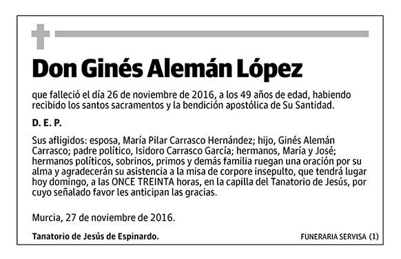 Ginés Alemán López
