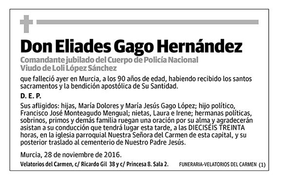 Eliades Gago Hernández