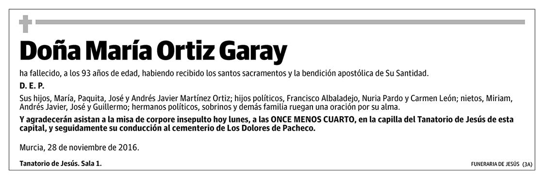 María Ortiz Garay