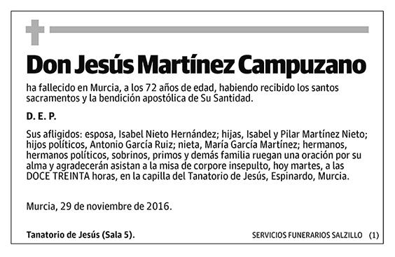 Jesús Martínez Campuzano