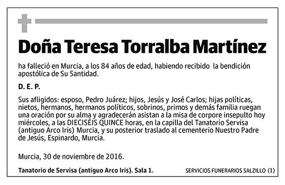 Teresa Torralba Martínez