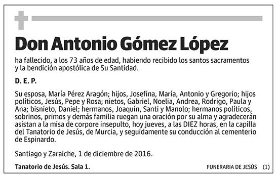 Antonio Gómez López