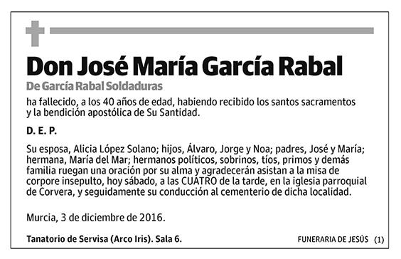 José María García Rabal