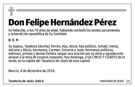 Felipe Hernández Pérez