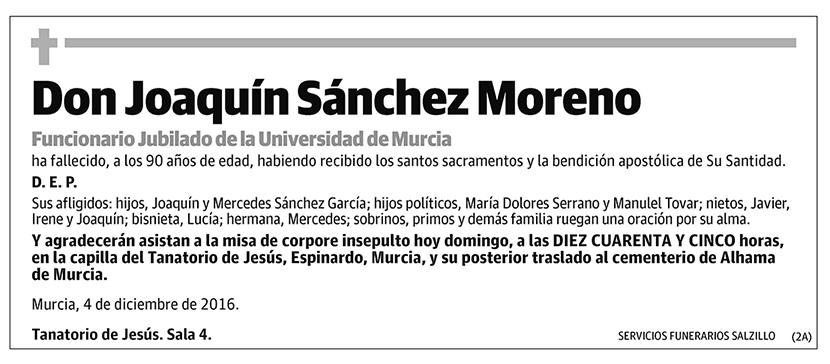 Joaquín Sánchez Moreno