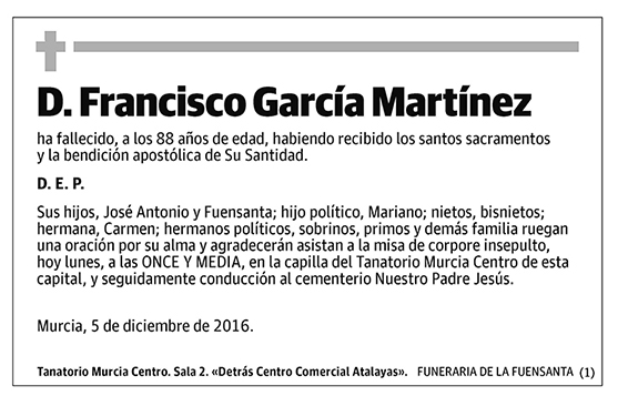 Francisco García Martínez