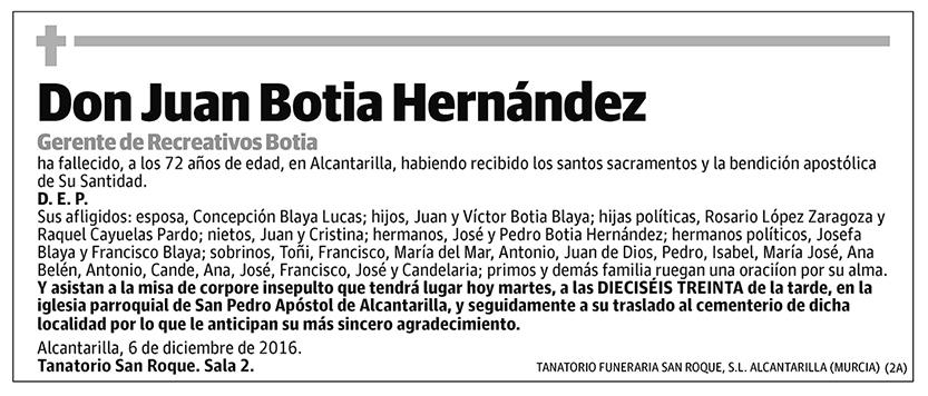 Juan Botia Hernández
