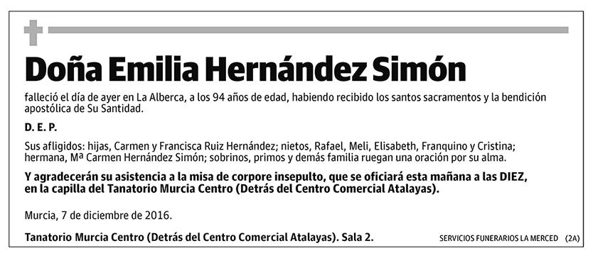 Emilia Hernández Simón