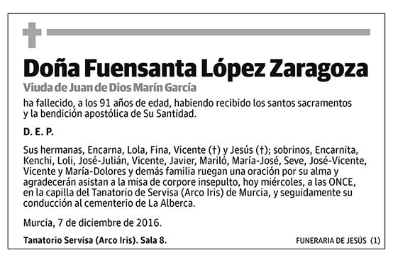 Fuensanta López Zaragoza