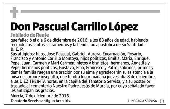 Pascual Carrillo López