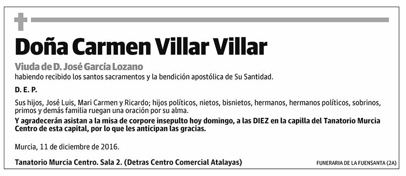 Carmen Villar Villar