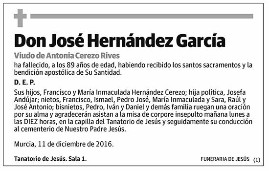 José Hernández García