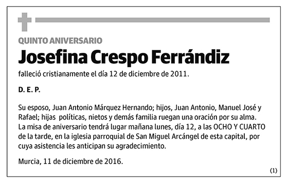 Josefina Crespo Ferrándiz