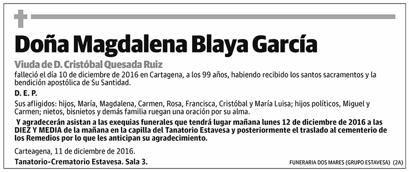 Magdalena Blaya García