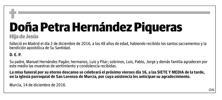 Petra Hernández Piqueras