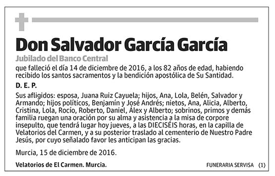 Salvador García García
