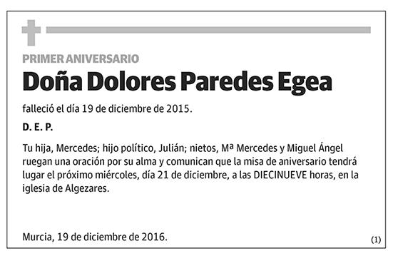 Dolores Paredes Egea