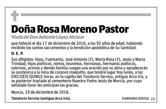 Rosa Moreno Pastor