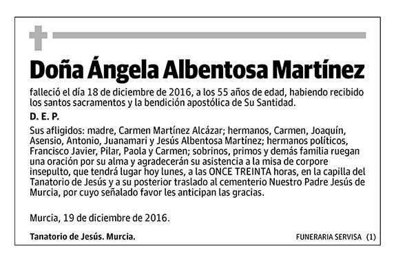 Ángela Albentosa Martínez