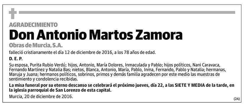 Antonio Martos Zamora