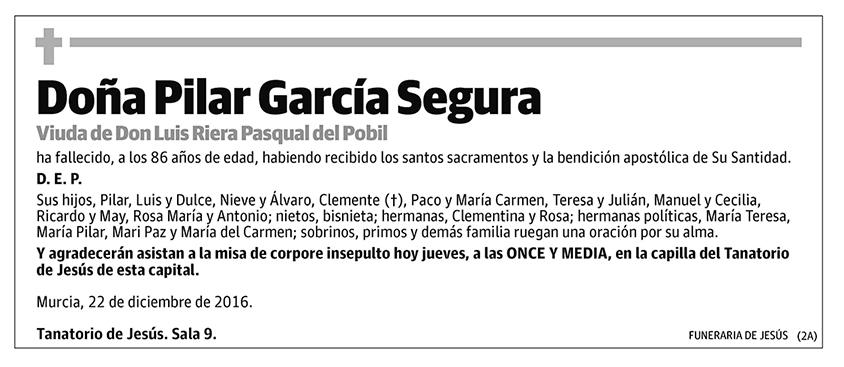 Pilar García Segura
