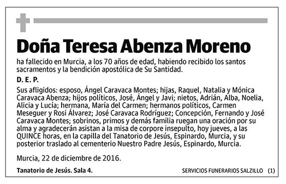 Teresa Abenza Moreno
