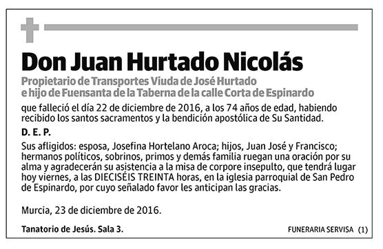 Juan Hurtado Nicolás