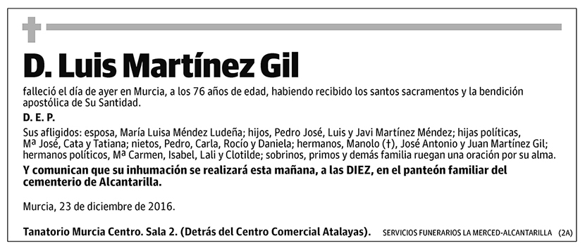 Luis Martínez Gil