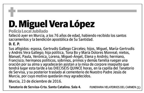 Miguel Vera López