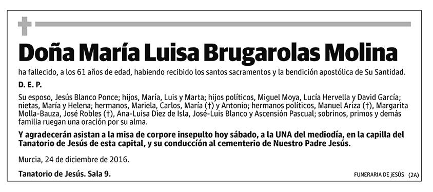 María Luisa Brugarolas Molina