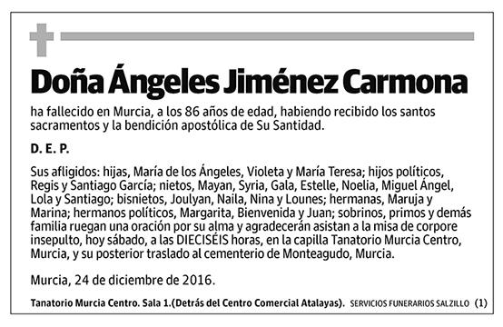 Ángeles Jiménez Carmona