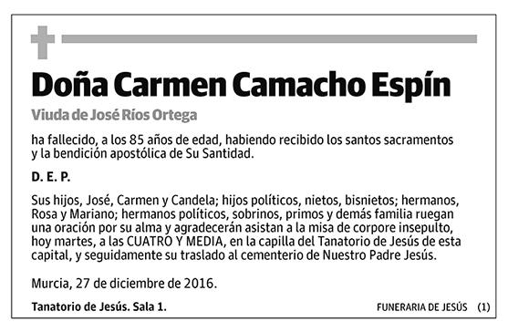 Carmen Camacho Espín