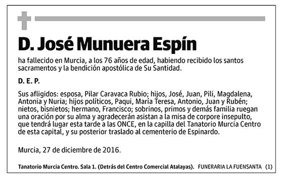 José Munuera Espín