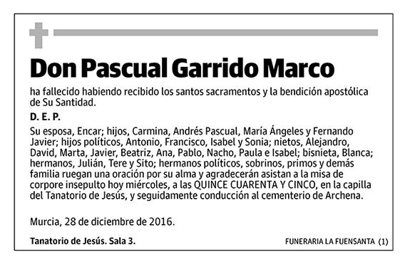 Pascual Garrido Marco