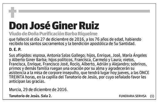 José Giner Ruiz