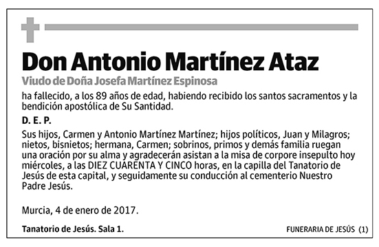 Antonio Martínez Ataz