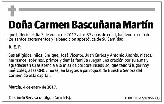 Carmen Bascuñana Martín