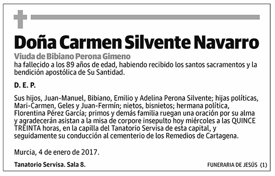 Carmen Silvestre Navarro