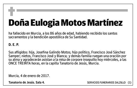 Eulogia Motos Martínez
