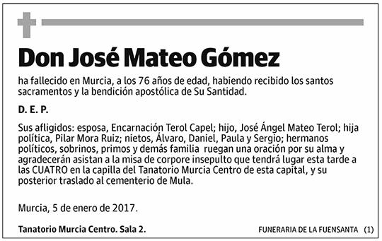 José Mateo Gómez