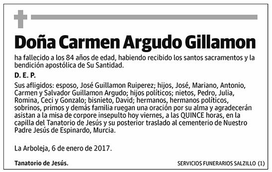 Carmen Argudo Gillamon