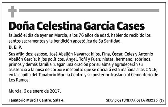 Celestina García Cases