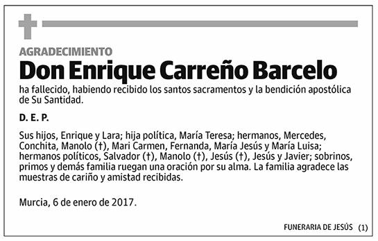 Enrique Carreño Barcelo