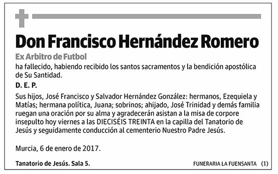 Francisco Hernández Romero