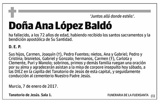 Ana López Baldó