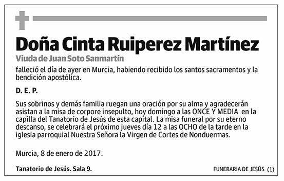 Cinta Ruizperez Martínez