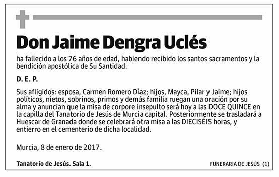 Jaime Dengra Uclés