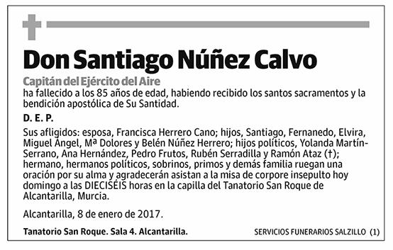Santiago Núñez Calvo